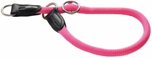 Hunter ошейник-удавка для собак Freestyle Neon 55/10 нейлоновая / неон