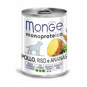 Monge Dog Monoproteico Fruits  паштет из курицы с рисом и ананасами
