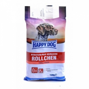 Happy Dog Колбаски жевательные с рубцом