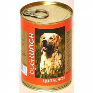 Dog Lunch цыпленок в желе
