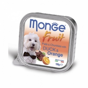 Monge Dog Fruit  утка с апельсином
