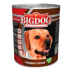 """BIG DOG Grain Line для собак """"Говядина с гречкой"""""""