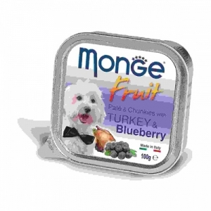 Monge Dog Fruit  индейка с черникой