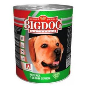 """BIG DOG Grain Line для собак """"Индейка с белым зерном"""""""