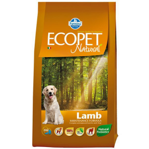 Farmina Ecopet Natural Adult Lamb Medium с ягнёнком
