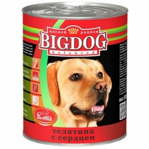 BIG DOG Телятина с сердцем