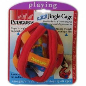"""Petstages игрушка для собак Mini """"Клетка текстильная"""" маленькая"""