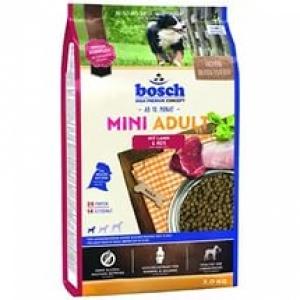 Bosch Mini Adult Lamb & Rice  с ягненком и рисом