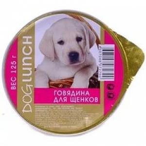 Dog Lunch крем-суфле с говядиной