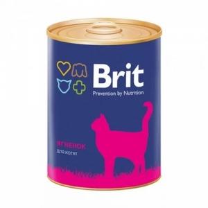 Brit Premium Консервы для котят ягненок