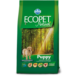Farmina Ecopet Natural Puppy Medium с курицей