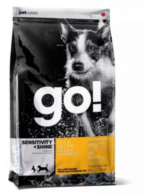 GO! NATURAL Holistic Sensitivity + Shine Для щенков и собак с цельной уткой и овсянкой