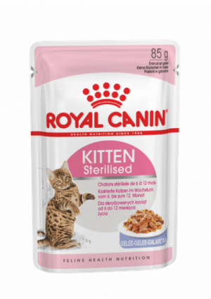 Royal Canin Pouch Kitten Sterilised в желе 85г