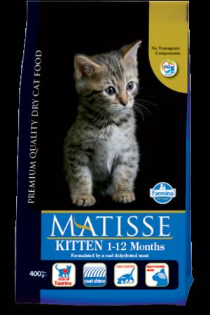Matisse Kitten с курицей и рисом