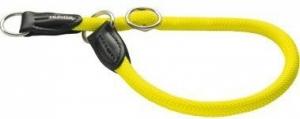Hunter ошейник-удавка для собак Freestyle Neon 50/10 нейлоновая желтый неон