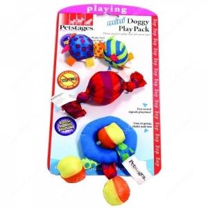 Petstages набор игрушек для собак Mini текстильные