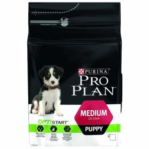 Pro Plan Medium Puppy  с комплексом  OPTISTART для щенков средних пород