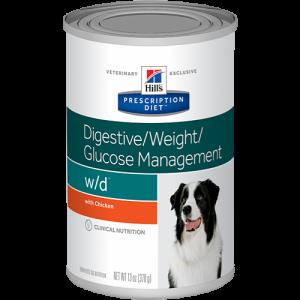 Hill's Prescription Diet Canine w/d 370г
