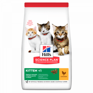 Hill's Science Plan Kitten для котят с курицей