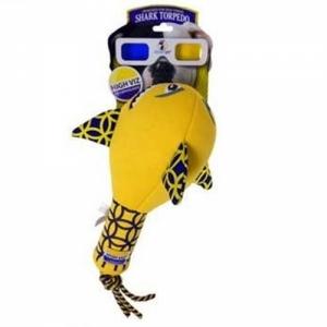 """R2P игрушка для собак High-Viz """"Акула"""" неопреновая для игр на воде"""