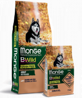 Monge BWild Grain Free All Breeds Adult Salmone