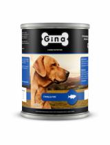 Gina для собак тунец и рис