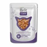 Brit Care для котят курица с сыром