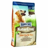 Happy Dog NaturCroq говядина и рис