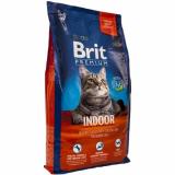 Брит Premium Indoor для кошек домашнего содержания
