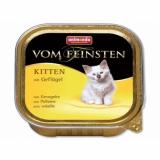 VOM FEINSTEN KITTEN  консервы с домашней птицей для котят