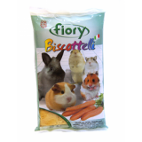 FIORY бисквиты для грызунов Biscottelli с морковью