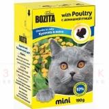 Bozita MINI Poultry (КУСОЧКИ В ЖЕЛЕ С ДОМАШНЕЙ ПТИЦЕЙ)