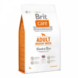 Brit Care Adult Medium Breed Lamb&Rice для средних пород