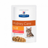 Hills Prescription Diet Feline k/d с лососем 85г