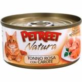 PETREET NATURA Розовый тунец с морковью