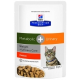 Hills Prescription Diet Metabolic + Urinary Feline 85г