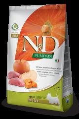 Farmina N&D Pumpkin Mini Adult Dog с диким кабаном, тыквой и яблоком