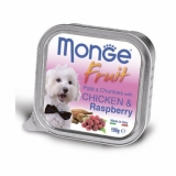 Monge Dog Fruit  курица с малиной