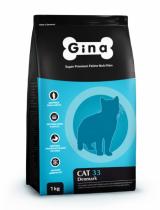 GINA Cat-33  корм для активных и выставочных кошек