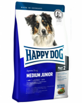 Happy Dog Medium Junior 25 для юниоров средних пород