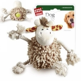 GiGwi игрушка для жераф с теннисным мячом внутри тела