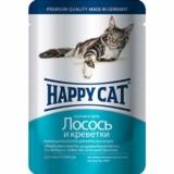 Happy Cat кусочки в желе 100гр
