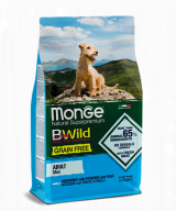 Monge BWild Grain Free Mini Adult Acciughe