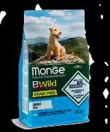 Monge BWild Grain Free Mini Adult Acciughe