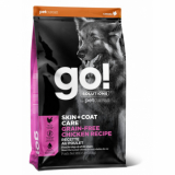 GO! Dog Solutions Skin+Coat Care All Life Stages Grain Free c цельной курицей