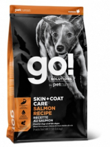 GO! Dog Solutions Skin+Coat Care All Life Stages с лососем и овсянкой