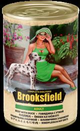 Brooksfield Adult Dog говядина/утка/коричневый рис