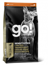 GO! Dog Solutions Sensitivities All Life Stages Grain Free c уткой