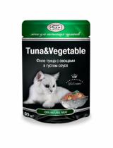 GINA  тунец/овощи