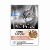 Pro Plan NUTRISAVOUR Housecat (лосось в соусе) 85г